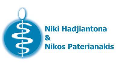 Dentists-Nicos Paterianakis and Niki Hatziantona Logo