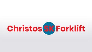 Christos SK Forklifts Logo