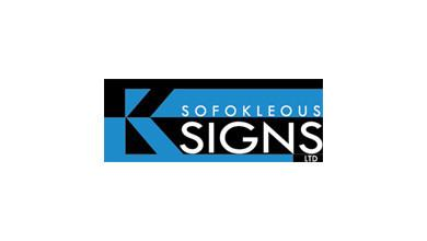Sofokleous Signs Logo
