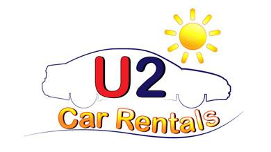U2 Car Hire Cyprus Logo