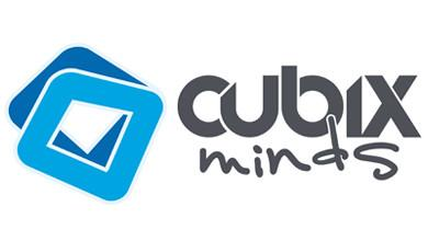 Cubix Minds Events Logo