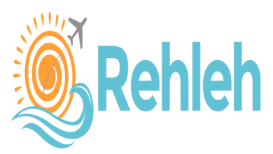 Rehleh Travel Agency Logo