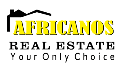 Africanos Real Estate Logo