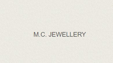 M. C. Jewellery Logo