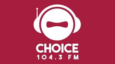 Choice 104.3 FM Logo