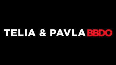 Telia & Pavla Advertising Logo