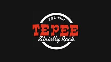 Tepee Strictly Rock Logo