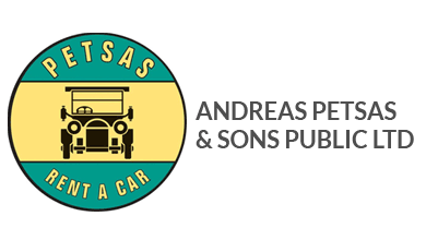 Petsas Car Rental Logo