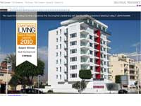 Boutique Residence Website Screenshot