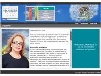 Markides Markides & Co Website Screenshot