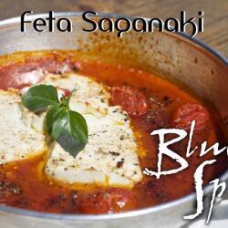 Blue Spice Restaurant Feta Saganaki