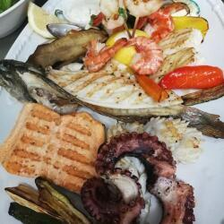 Blue Spice Restaurant Seafood Plater