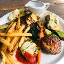 Blue Spice Restaurant Vegetarian Plate