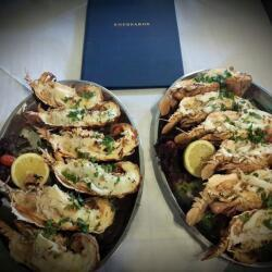 Koursaros Fishtavern Mediterranean Slipper Lobster