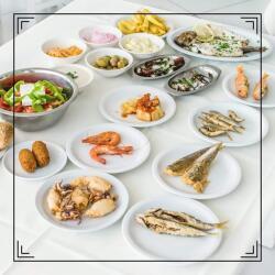 Monte Carlo Restaurant Fish Meze