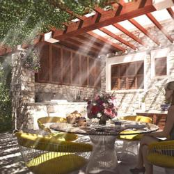 Private House Renovation In Limassol Outdoor