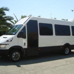 Polyviou Coaches Tourist Tours Iveco Mini Bus