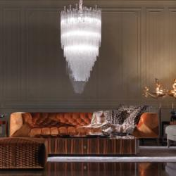 Exclusive by Andreotti - Roberto Cavalli Blake Sofa