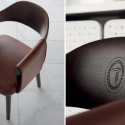 Exclusive by Andreotti - Trussardi Casa Larzia Armchair