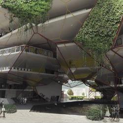 Architectural Competition Pandoras Cave Arts Centre Proposal