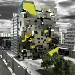 Architectural Proposal Loft Butique Hotel Peru