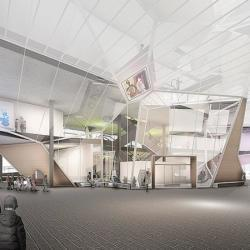 Architecture Competition Varna Library Indoor