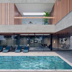 Architecture Design For A Pricate Villa In Larnaca Outdoor Pool