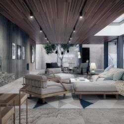 Architecture Interior Design For A Pricate Villa In Larnaca