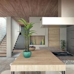 Construction Drawings Commenced Interior Design House Chapeau Kitchen