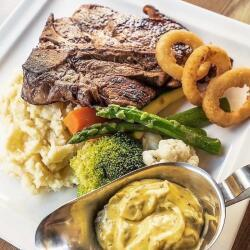 Salut Bar And Grill T Bone Steak