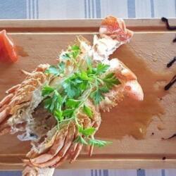 Potamos Fish Restaurant Lobster