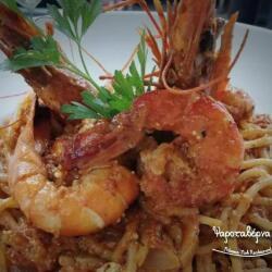 Potamos Fish Restaurant Prown Pasta
