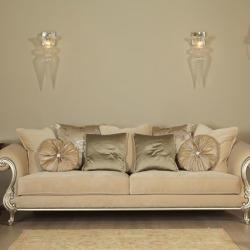 Tofias Furniture - Oscar Classic Three Sitted Sofa