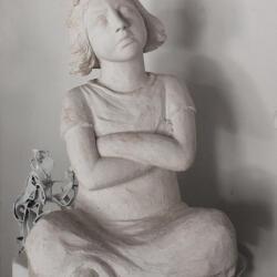 Simoni Symeonidou Artwork Sculptures Unfold Girl