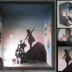 Simoni Symeonidou Artwork Shadow Sculpture Akrobatis