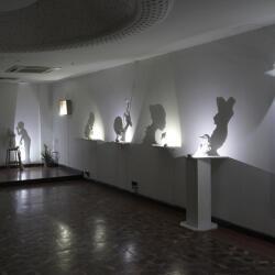 Simoni Symeonidou Artwork Shadow Sculpture Vice Versa Exhibition