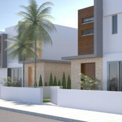 D Kaimakliotis Architects House Complex Frond View