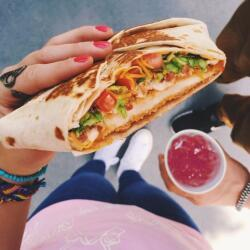 Taco Bell Caesar Crunchwrap