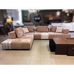 Lavdas - Corner Shaga Sofa