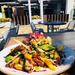 Epsilon Resto Bar Crispy Duck Salad