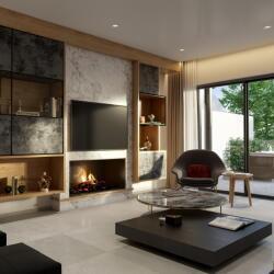 Modern Hill House 1 Interior