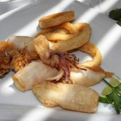 Aeyialos Seafood Restaurant Fried Calamari