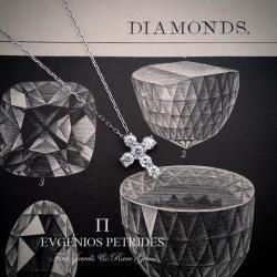 Evgenios Petrides Diamond Cross