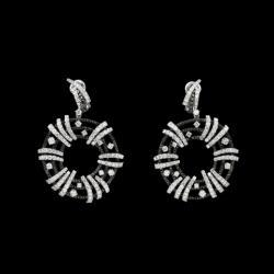 Carlo Joaiellier Collection Queenly White Gold Natural White And Black Diamonds
