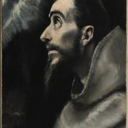 El Greco And Studio St Francis In Ecstasy