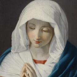 Eventis Gallery Italian School The Virgin In Prayer