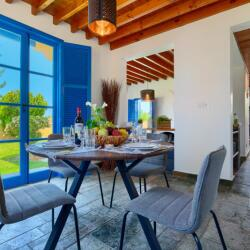 The Olympians Latchi Beach Villas For Rent Dinning Area