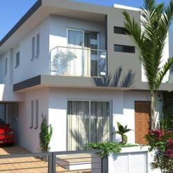 A Semi Detached Modern Unfurnished Three Bedroom Three Bathroom House For Sale In Pervolia Larnaca