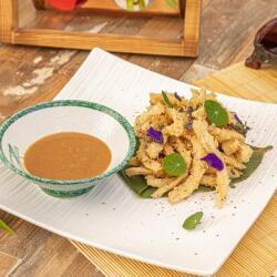 Oshi Pepper Crusted Squid
