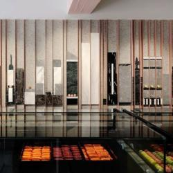 Modern Urban Renewal For New York Sweets Pastry Shops By Pavlides Marble